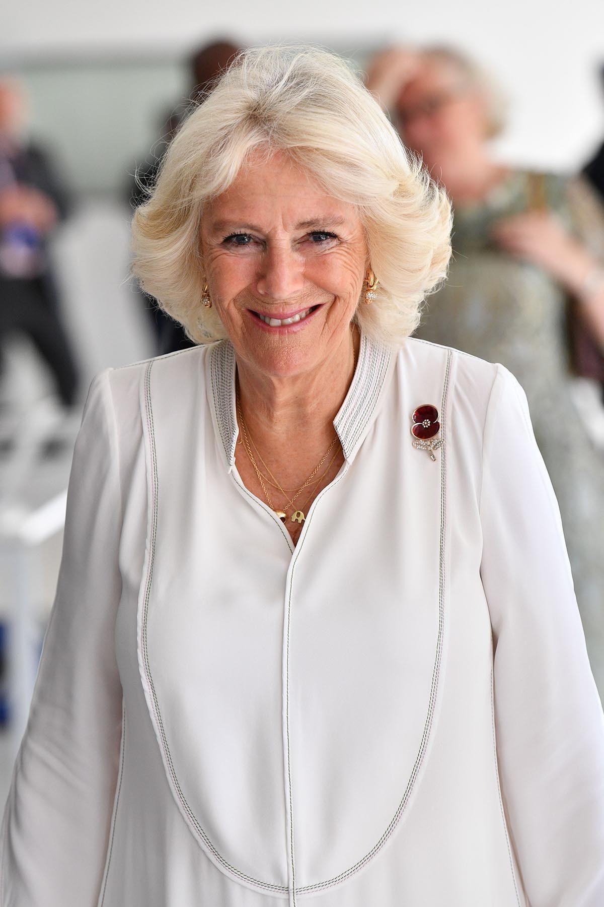La famille royale n'a pas offert de titre à Camilla.