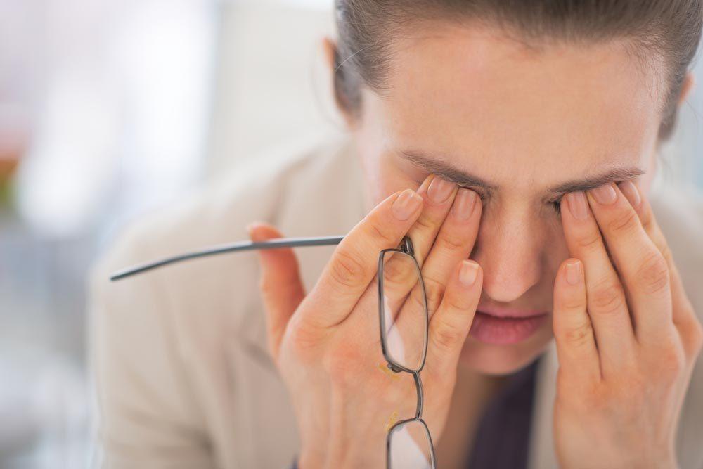 La glycémie augmente avec le stress.