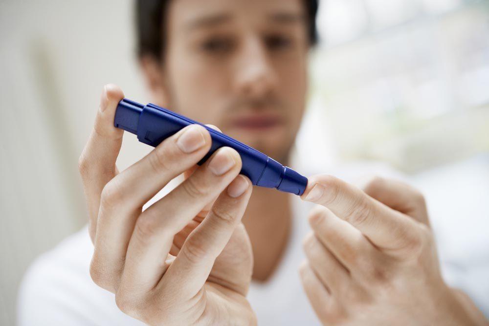 Des tests de glycémie à faire soi-même.