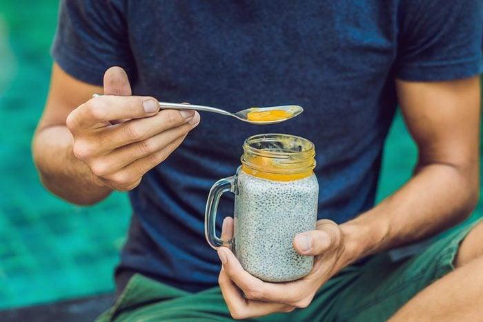 Les graines de chia sont riches en antioxydants.
