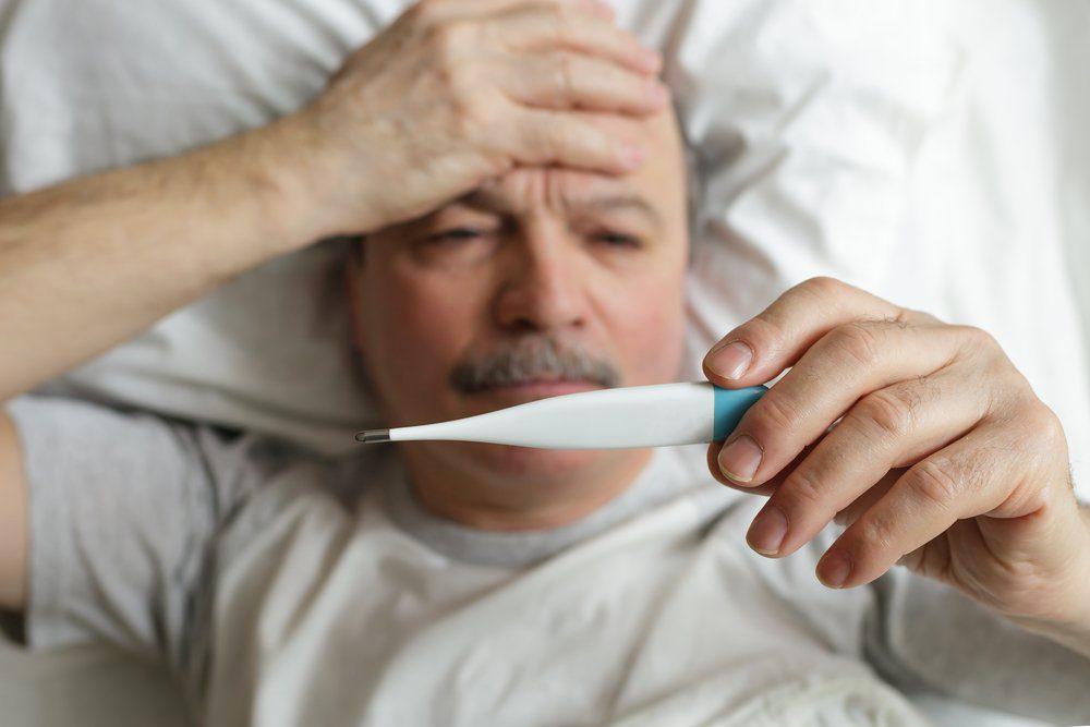 Une personne hypocondriaque se sent constamment malade.