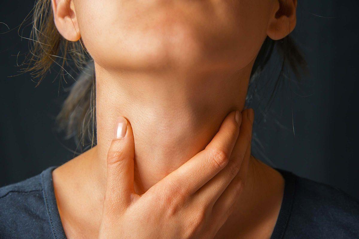 Le lupus peut causer une inflammation des ganglions lymphatiques.