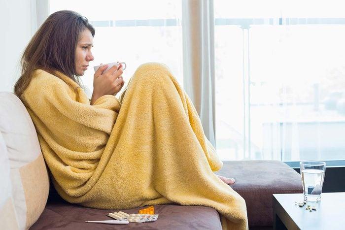 Le lupus peut être confondu avec une grippe.