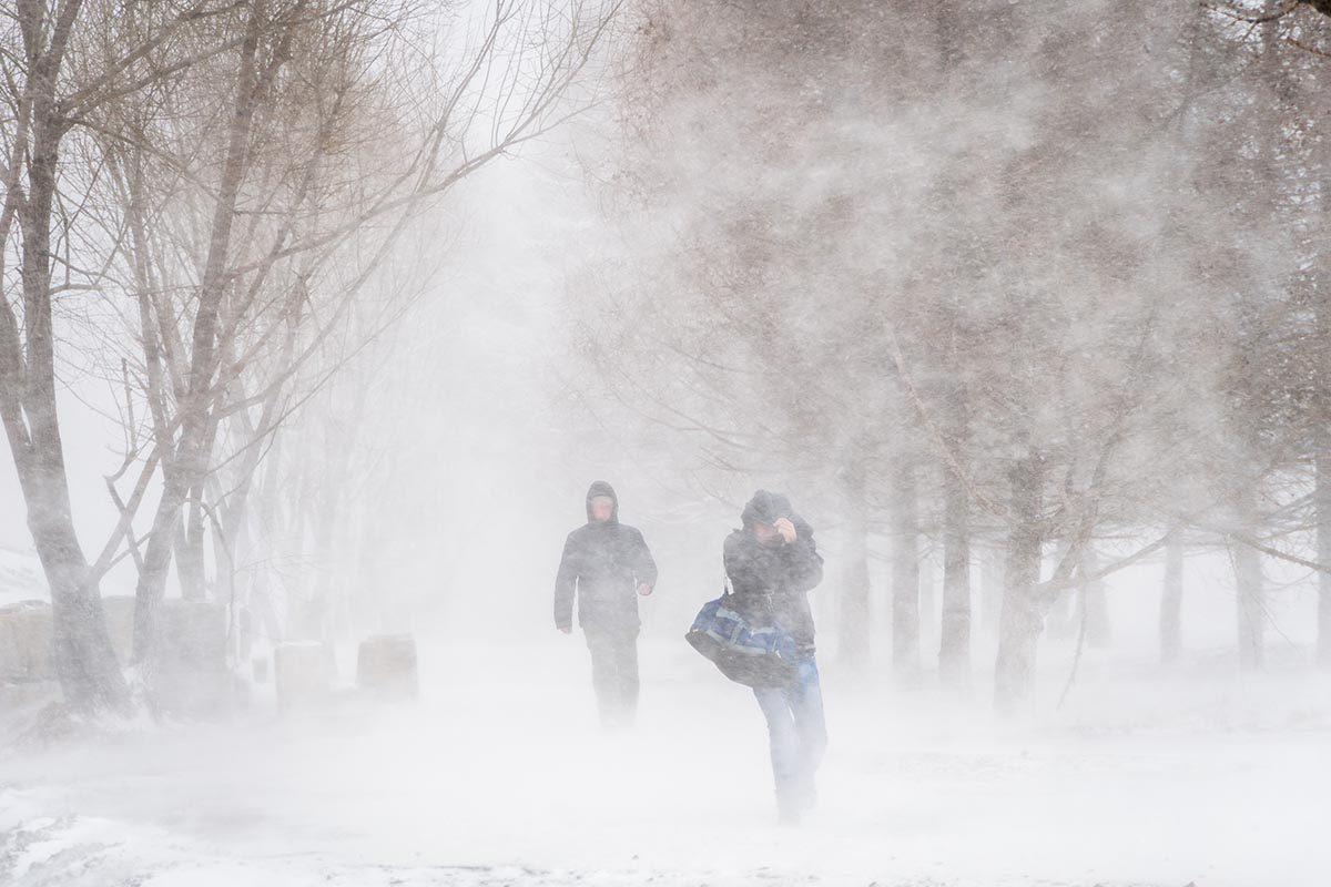 Expression météo : De la poudrerie