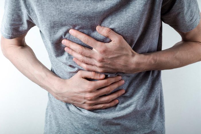 La perte d'appétit peut être causée par des reflux acides.