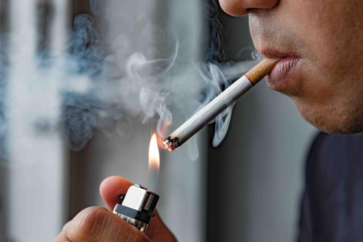 La perte d'appétit peut être liée à la cigarette.