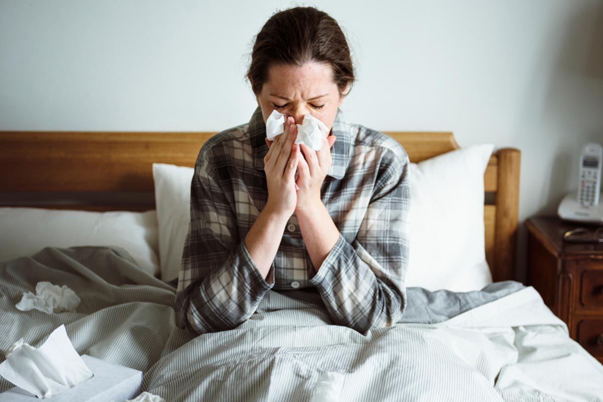 La perte d'appétit peut être la conséquence d'un rhume ou d'une grippe.