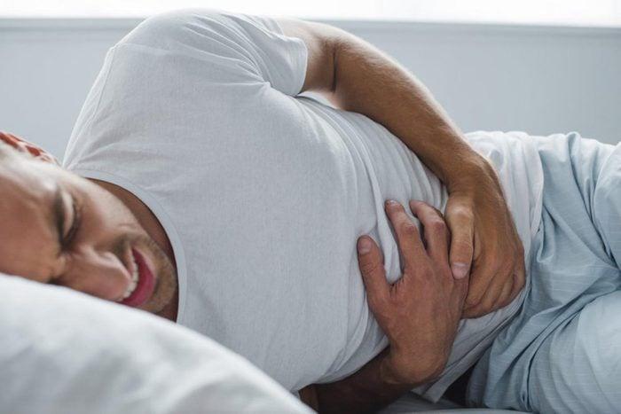 La perte d'appétit peut être un symptôme d'une maladie du système digestif.