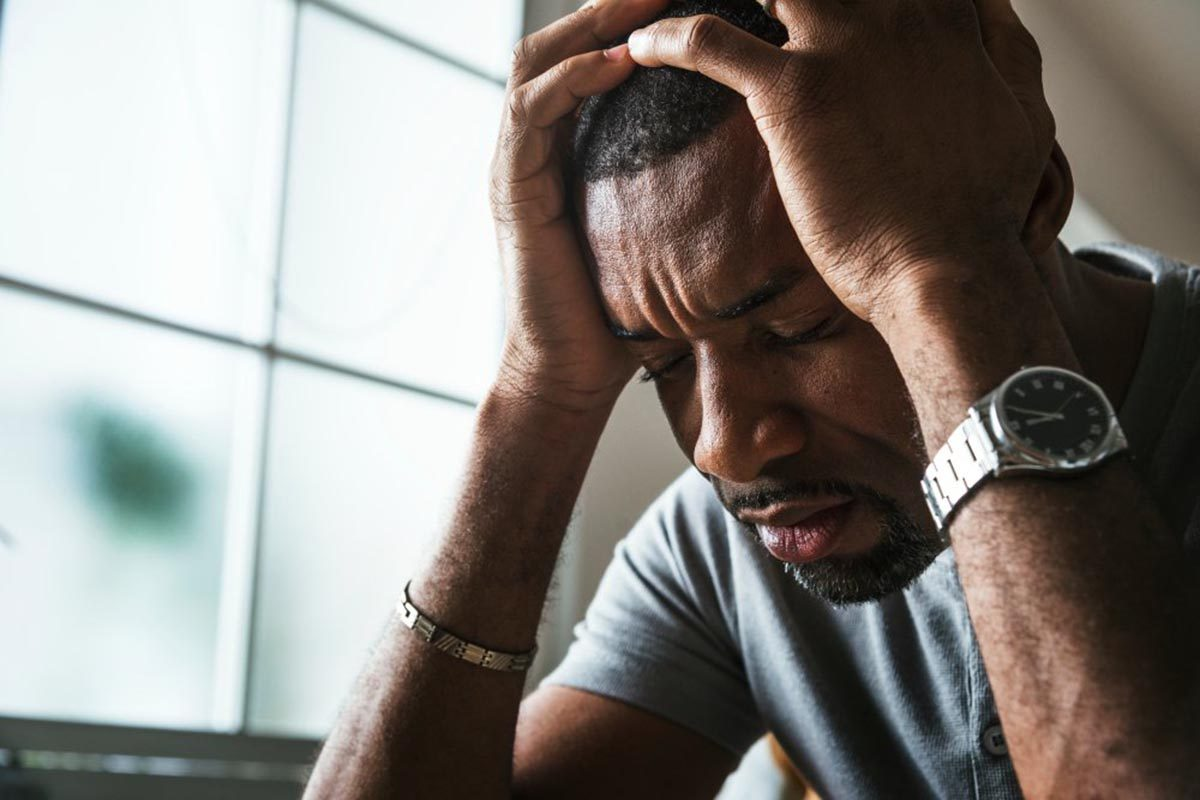 La perte d'appétit peut être causée par le stress.