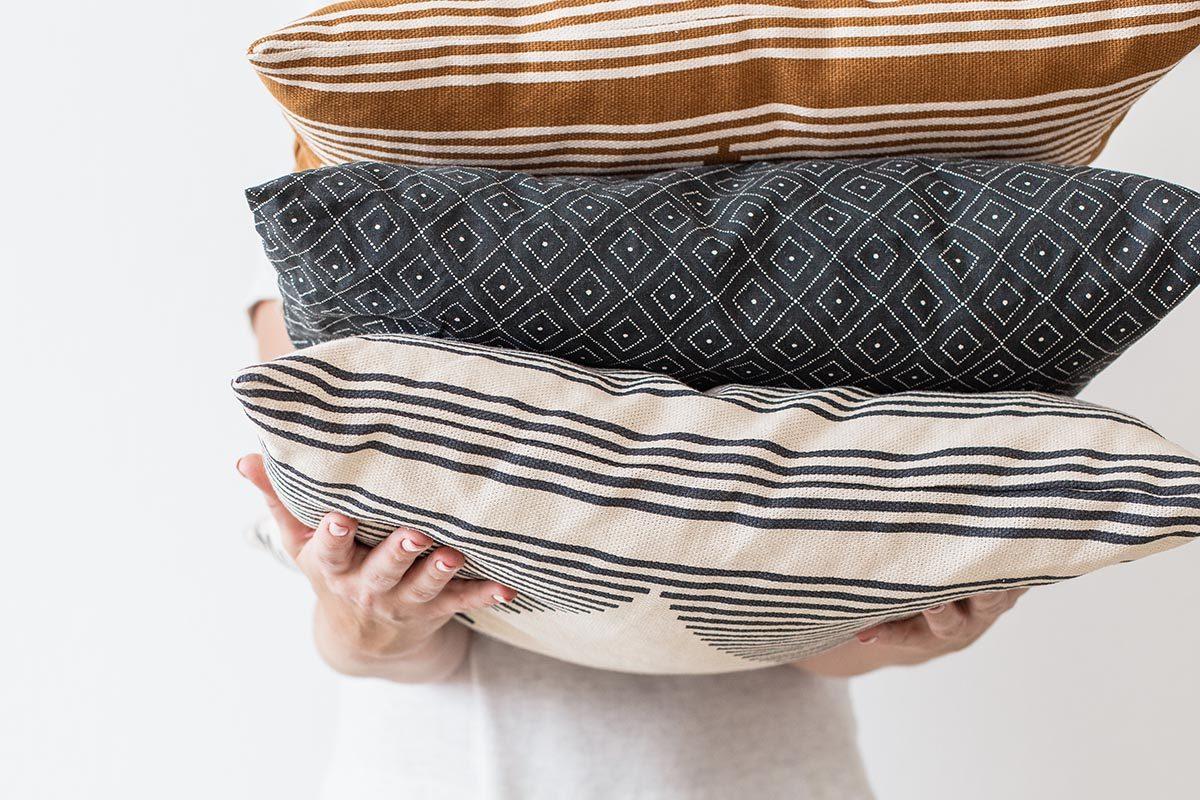 Rangement : regroupez vos draps dans des taies.