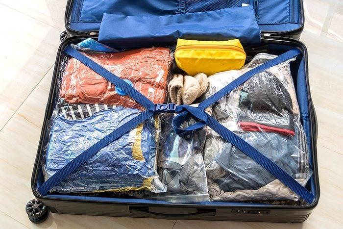 Rangement : gagnez de la place avec des sacs permettant de retirer l'air.