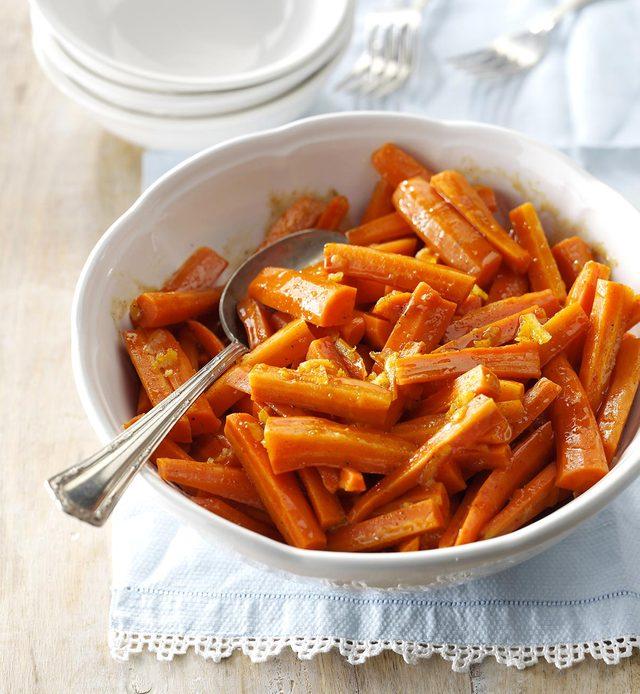 Recette à la mijoteuse : carottes glacées à la marmelade