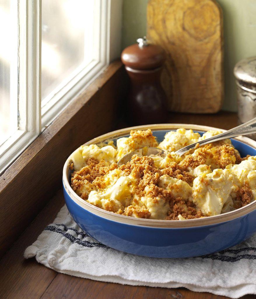 Recette à la mijoteuse : mijoté de chou-fleur au fromage