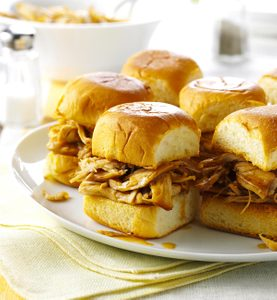 Mini-sandwichs à la dinde teriyaki