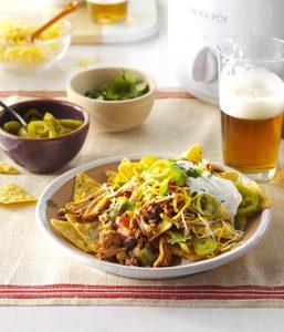 Tacos de poulet aux haricots noirs