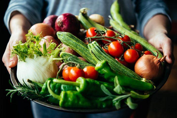 La santé du coeur dépend de la consommation de fruits et légumes.