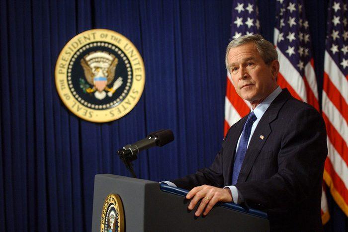 George W. Bush a été scout.