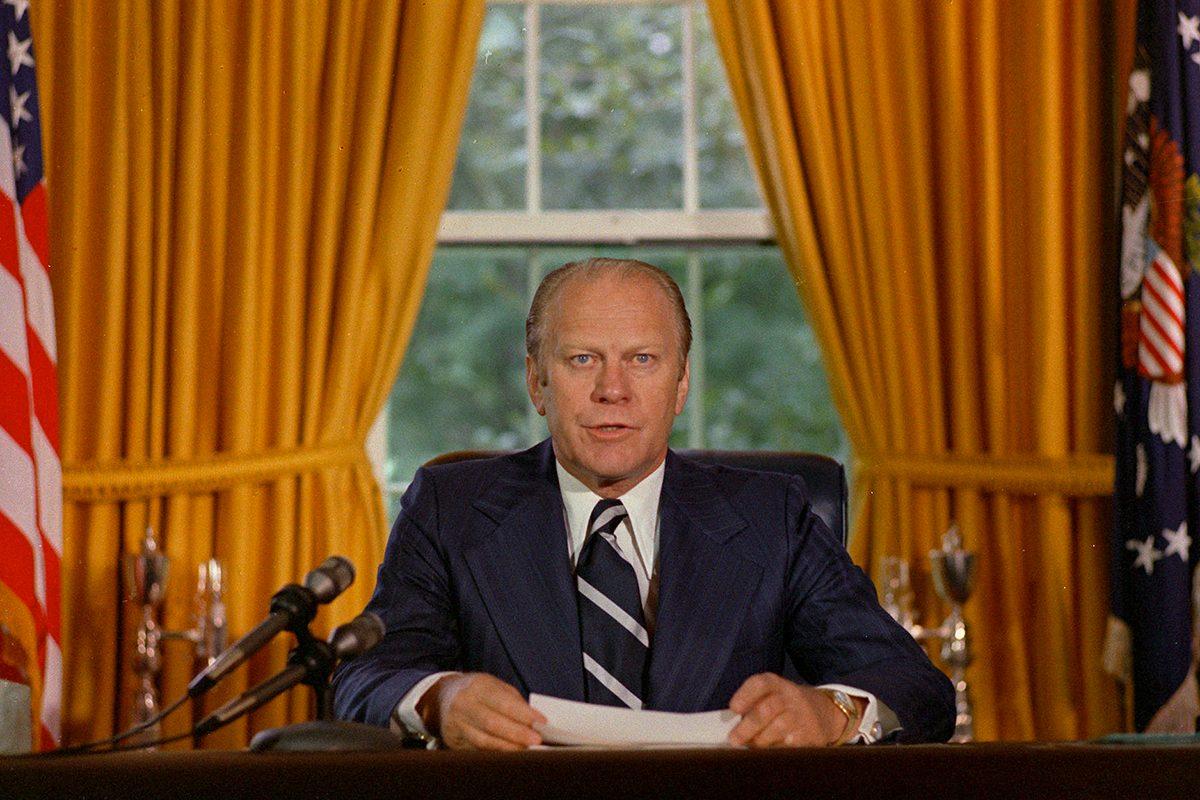 Gerald Ford a été scout.