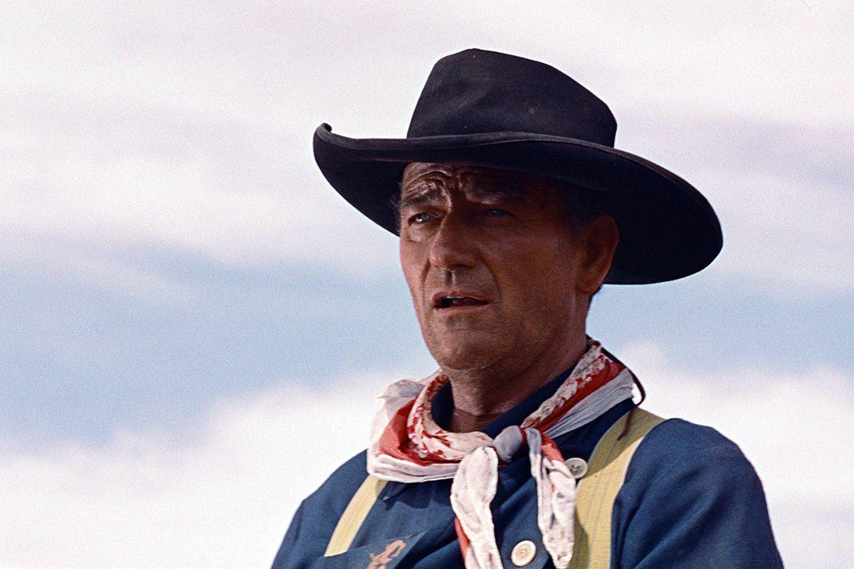 John Wayne a été scout.