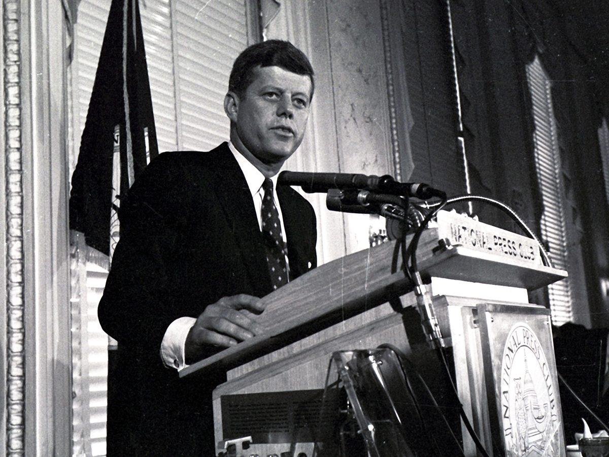 John F. Kennedy a été scout.