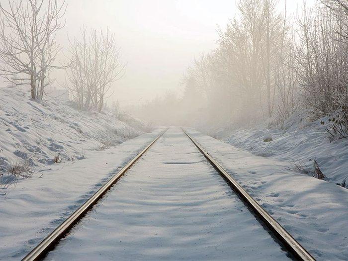 En février 1947 s'est déroulée l'une des pires tempêtes de neige du Québec et du Canada.