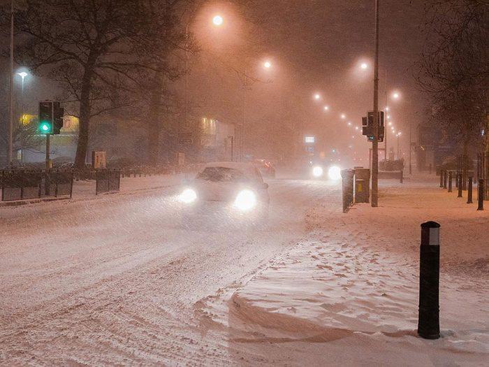 En février 2007 s'est déroulée l'une des pires tempêtes de neige du Québec et du Canada.