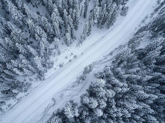 En mars 1966 s'est déroulée l'une des pires tempêtes de neige du Québec et du Canada.