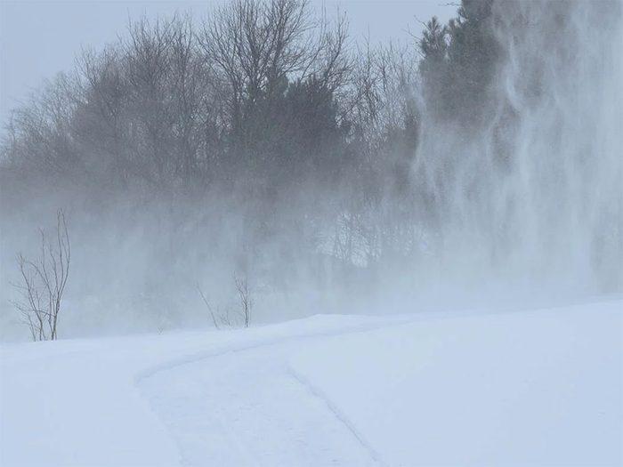 En 2015 s'est déroulée l'une des pires tempêtes de neige du Québec et du Canada.