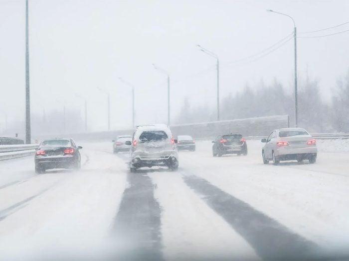 En mars 2017 s'est déroulée l'une des pires tempêtes de neige du Québec et du Canada.