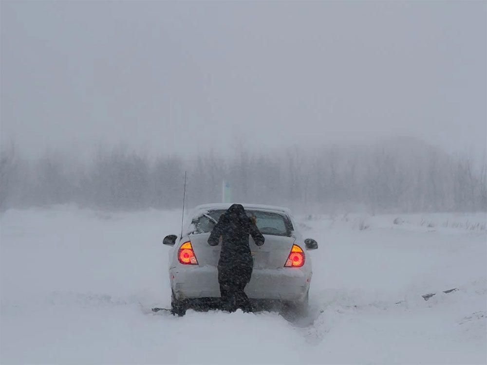 En février 1998 s'est déroulée l'une des pires tempêtes de neige du Québec et du Canada.