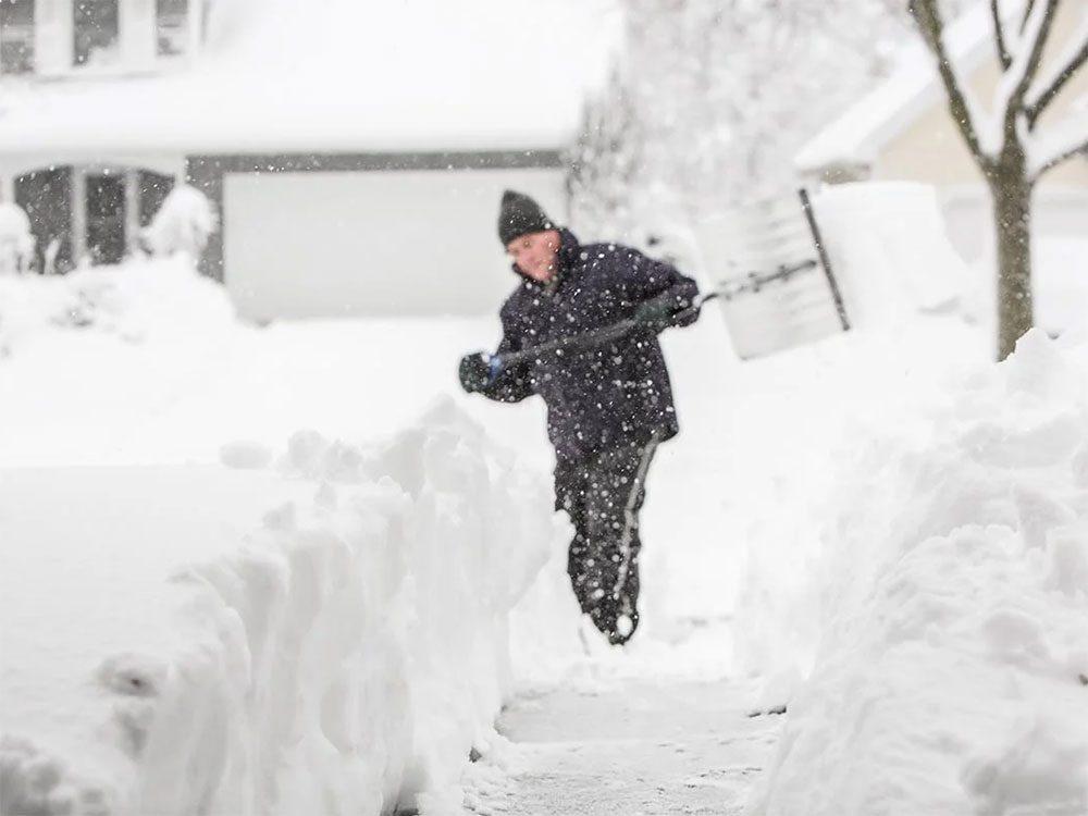 En février 2004 s'est déroulée l'une des pires tempêtes de neige du Québec et du Canada.