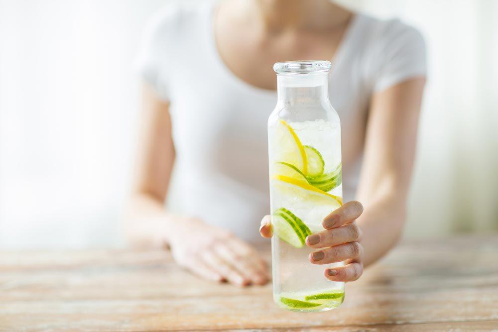 L'urine permet de détoxifier le corps.