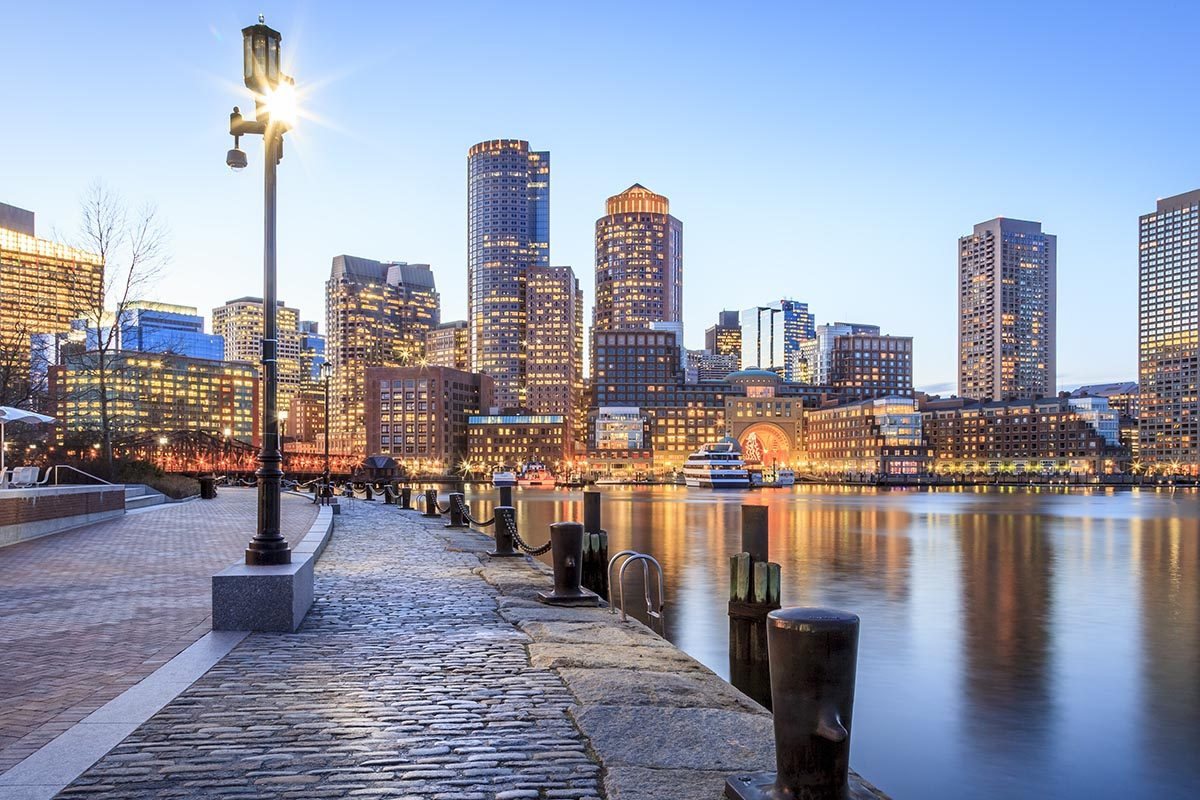 Ville romantique : Boston.