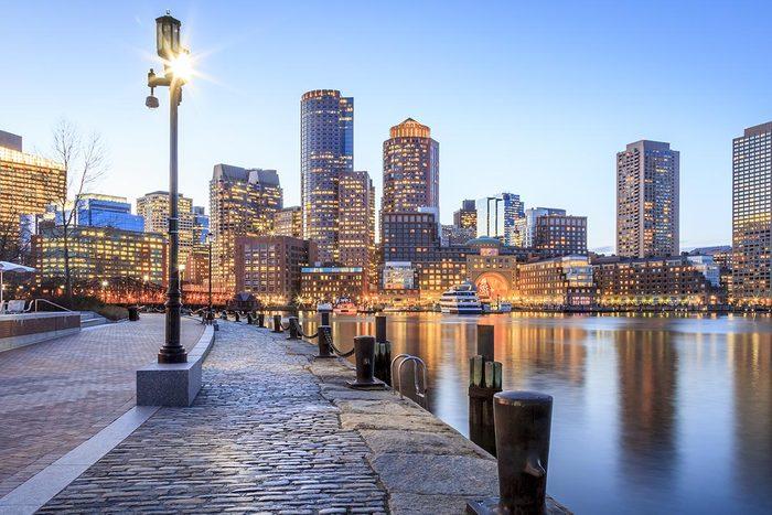 Ville romantique : Boston.