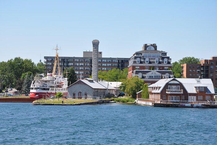 Ville romantique : Kingston.