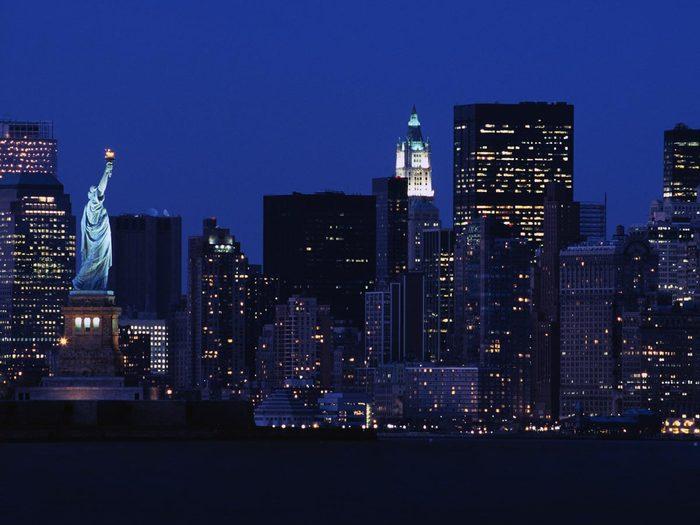 Ville romantique : New-York.