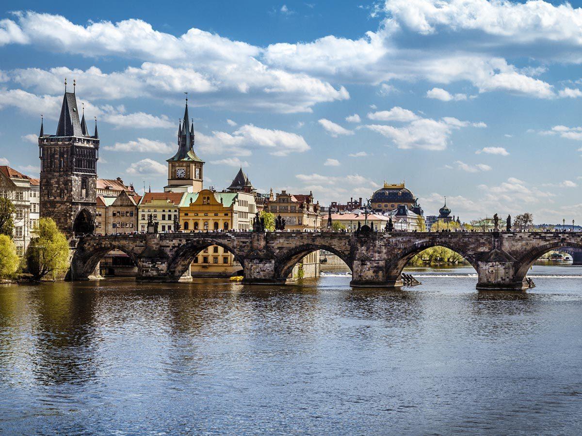 Ville romantique : Prague.