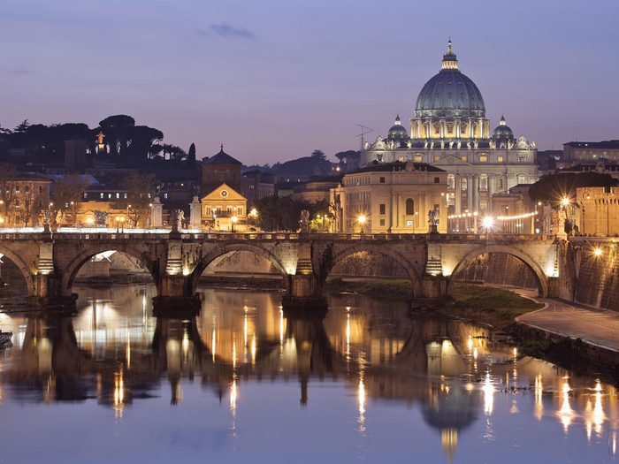 Ville romantique : Rome.