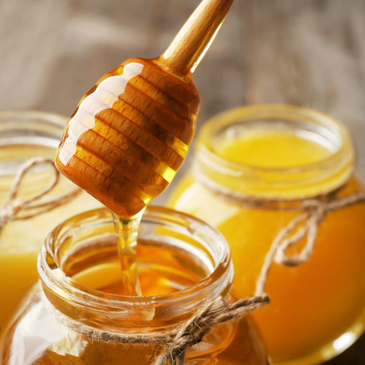 Recette de yogourt et de miel.