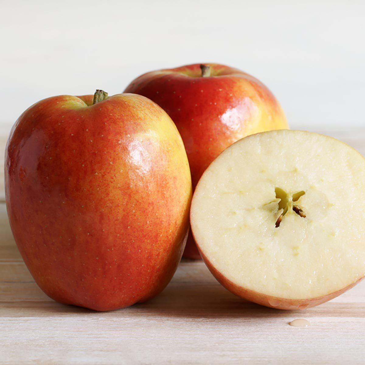 Recette de yogourt et de pommes.