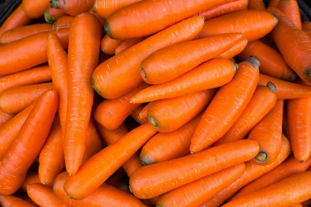 Aliments anti-âge : les carottes.