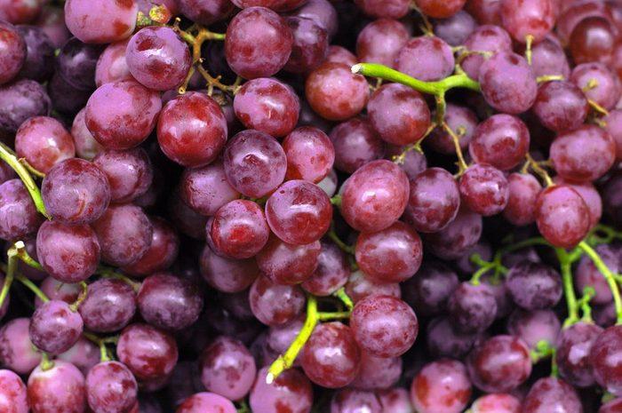 Aliments anti-âge : le raisin.