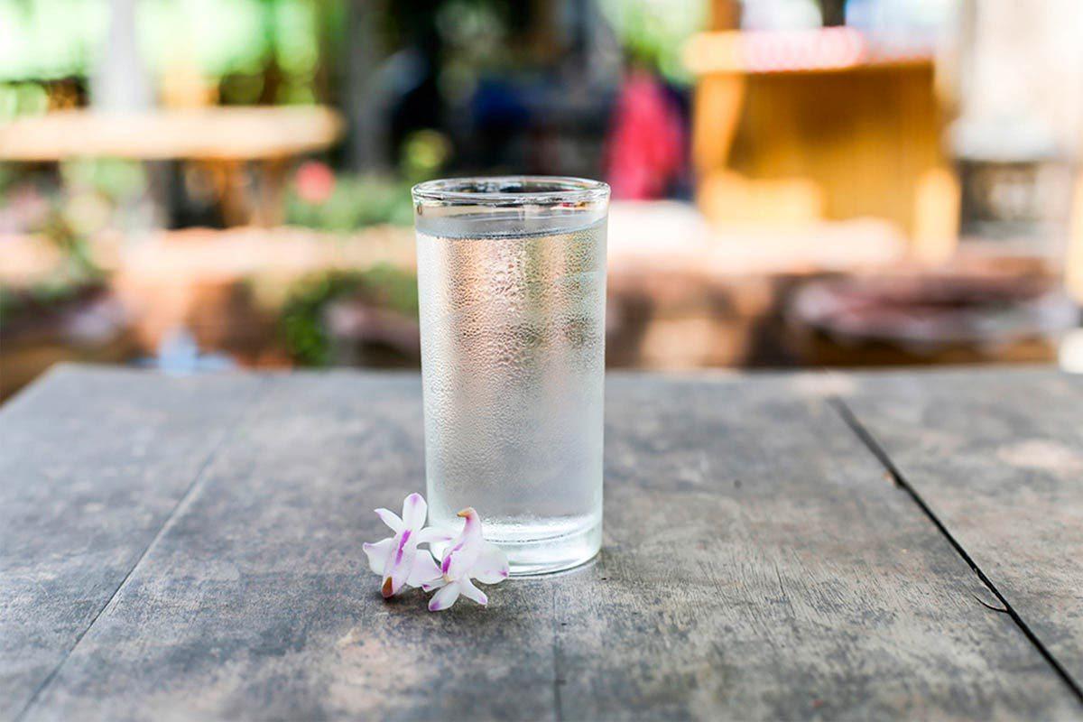 Aliments beauté : l'eau.
