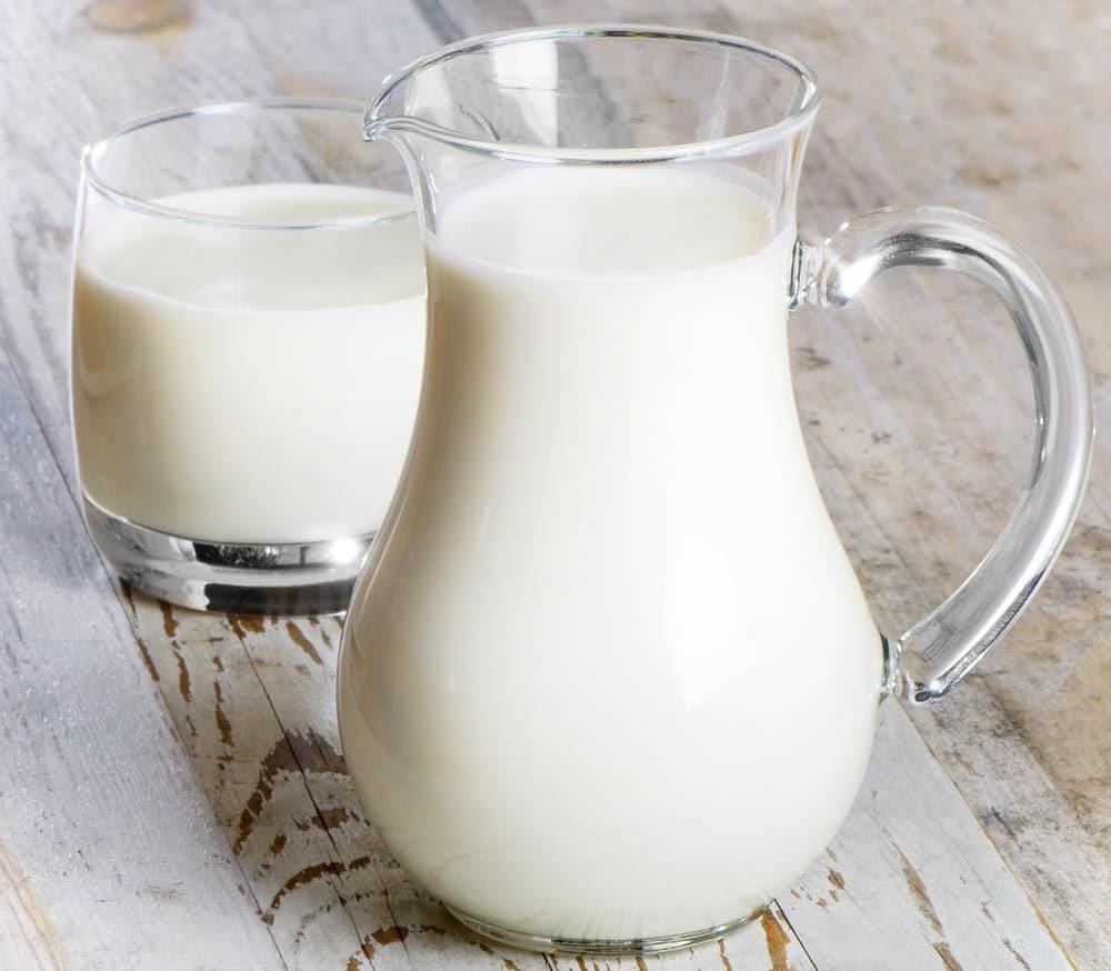 Aliments beauté : le lait.