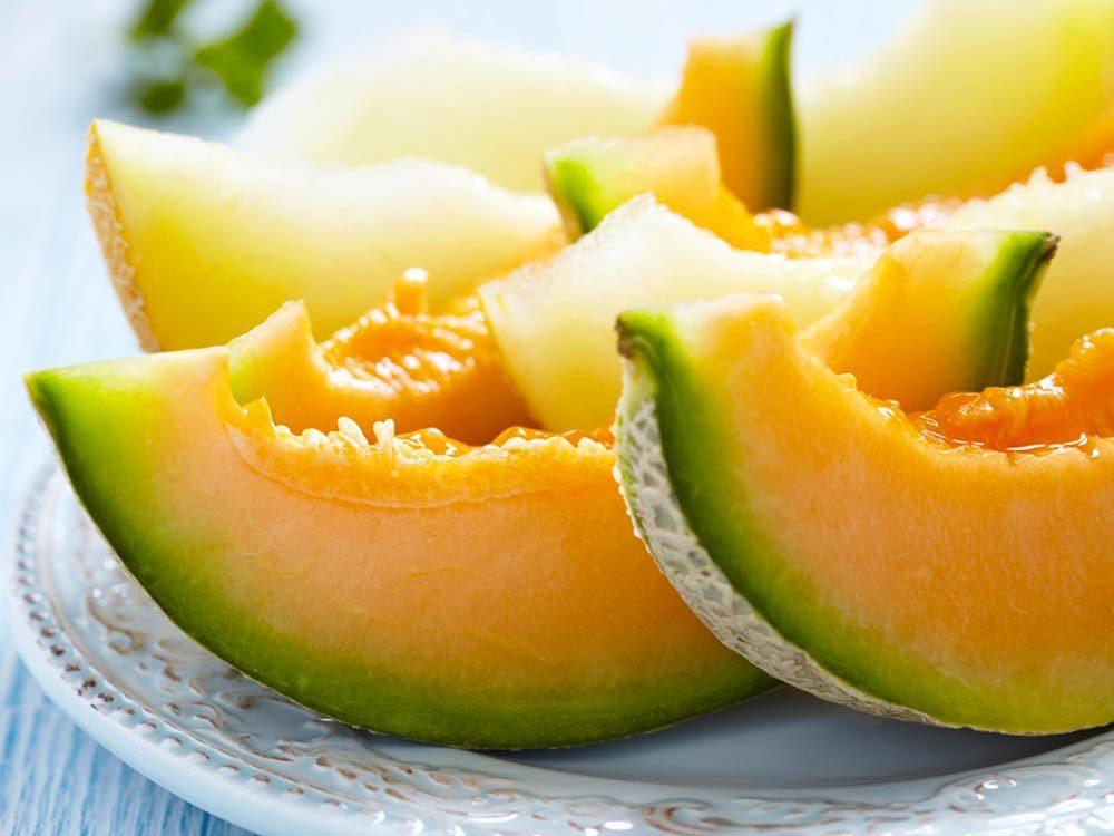 Aliments beauté : le melon.
