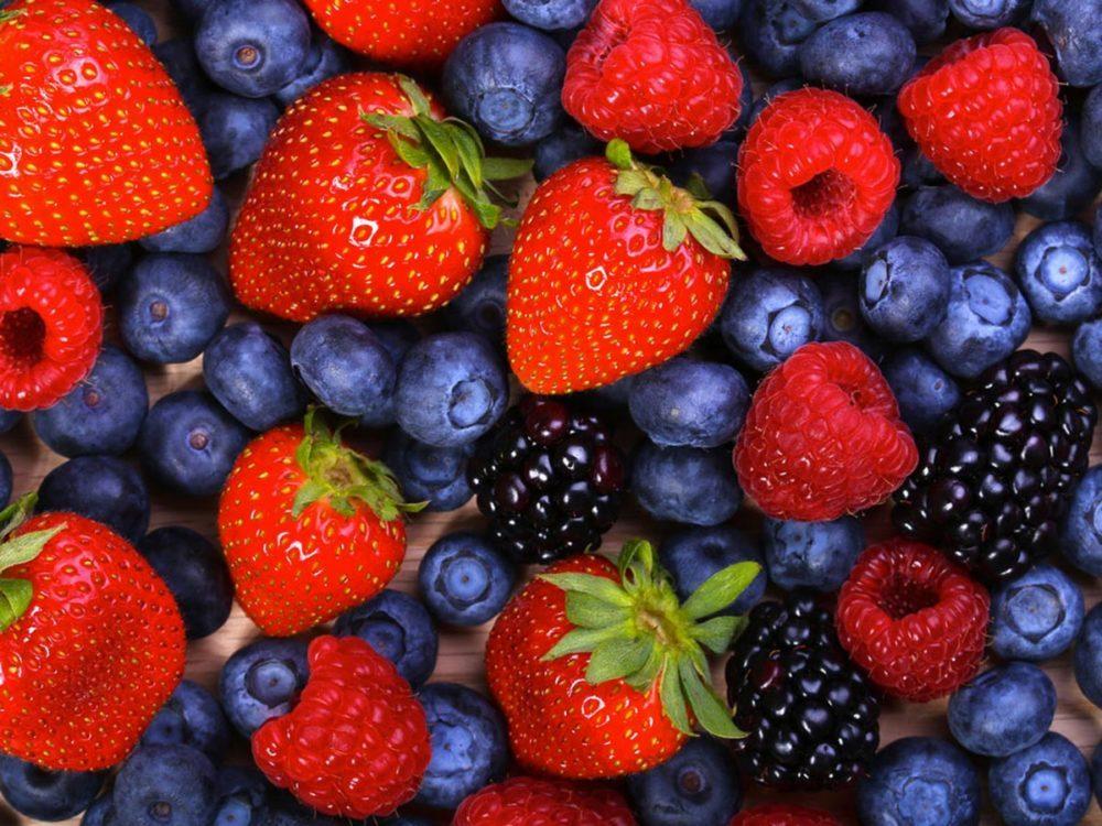 Aliments beauté : les petits fruits.