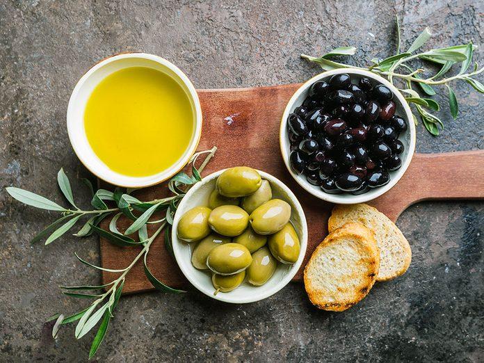 Les études récentes sur les bienfaits de l'huile d'olive.