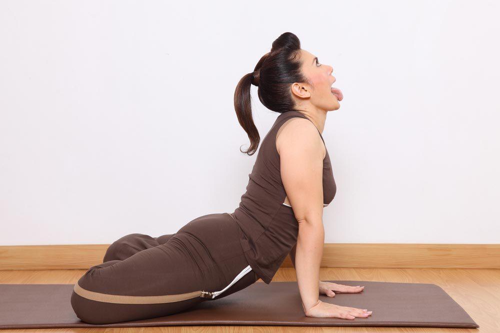 Colère : essayez le yoga.