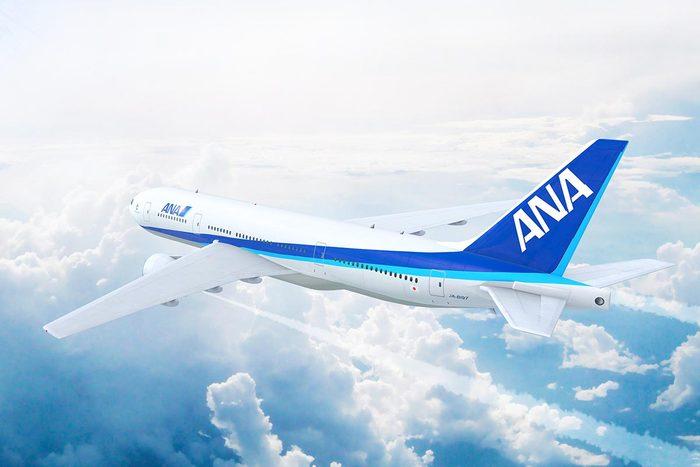 Les compagnies aériennes les plus propres au monde : ANA All Nippon Airways