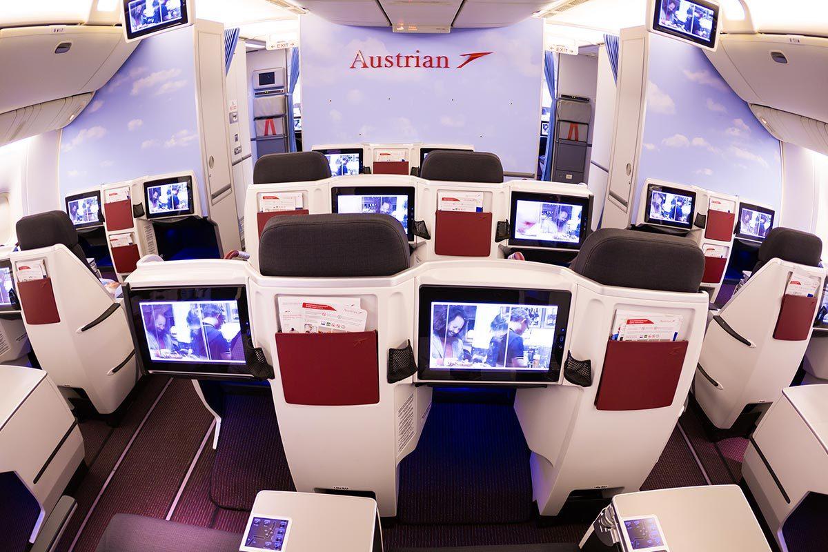 Les compagnies aériennes les plus propres au monde : Austrian Airlines